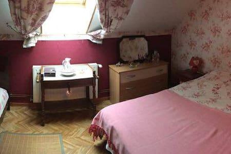 Chambre agréable dans une maison chaleureuse