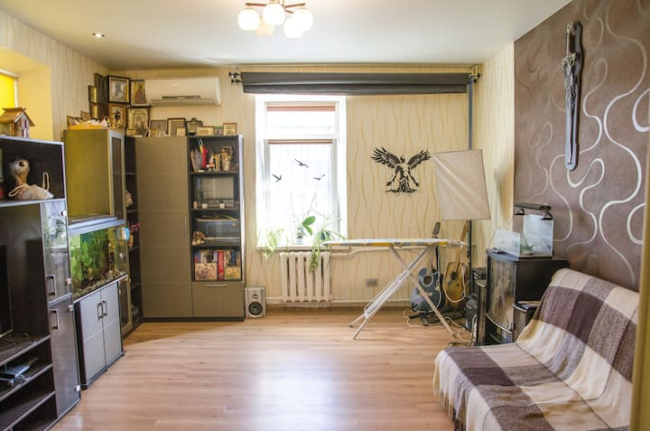 Comfortable apartment in the center of Dnipro-city