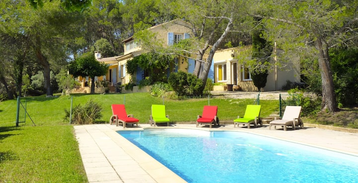 Villa with a view in Isle sur la Sorgue