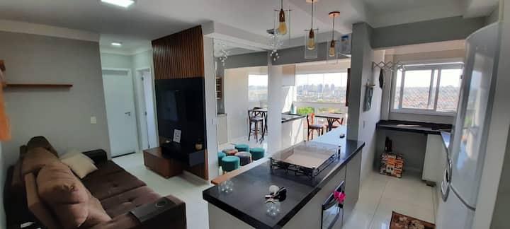 Apartamento 2 quartos e 2 banheiros