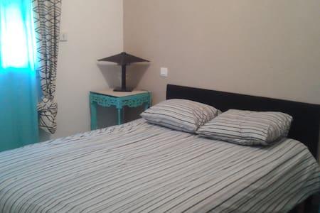 Chambre avec lit double - Capdenac