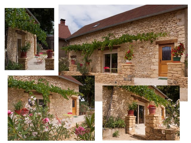 Gite Le Pressoir du Reyssot - Saint-Amand-de-Coly - Rumah