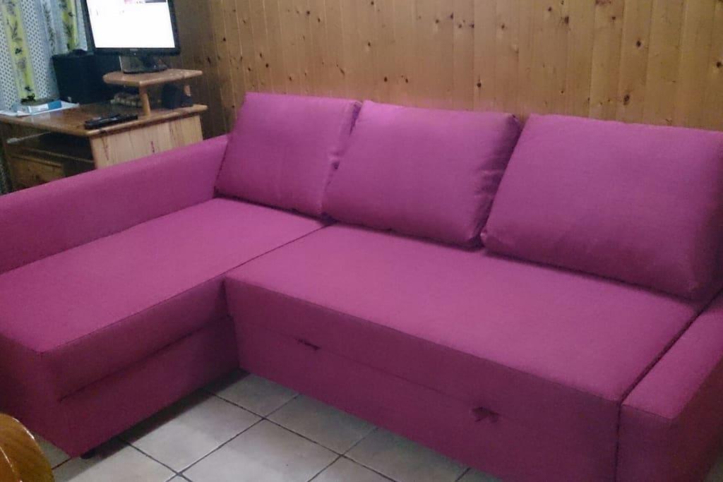 sofa-cama ( zona comun salon )