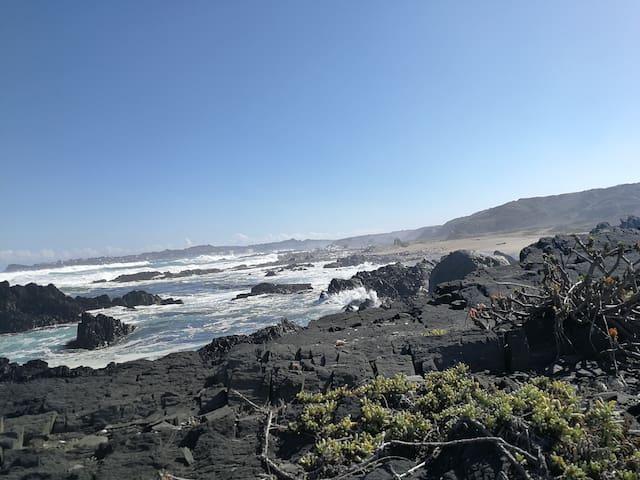 Dpto, vista al mar, la mejor ubicación Los Molles.
