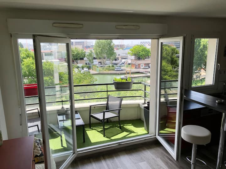 Bel appartement proche Paris et Stade de France