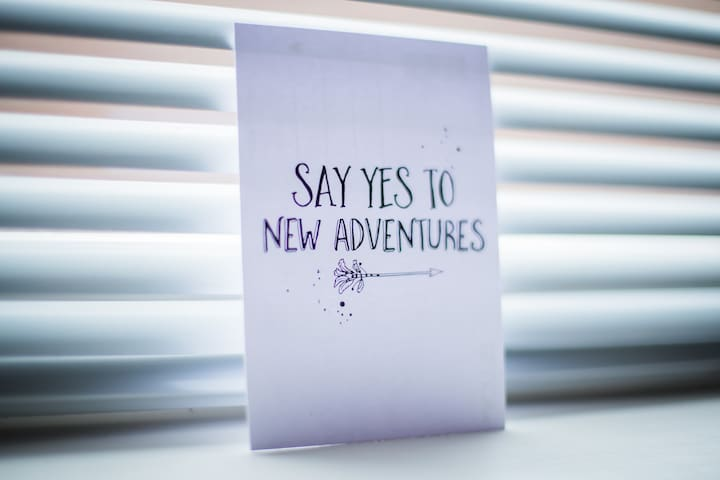 Just say YES!