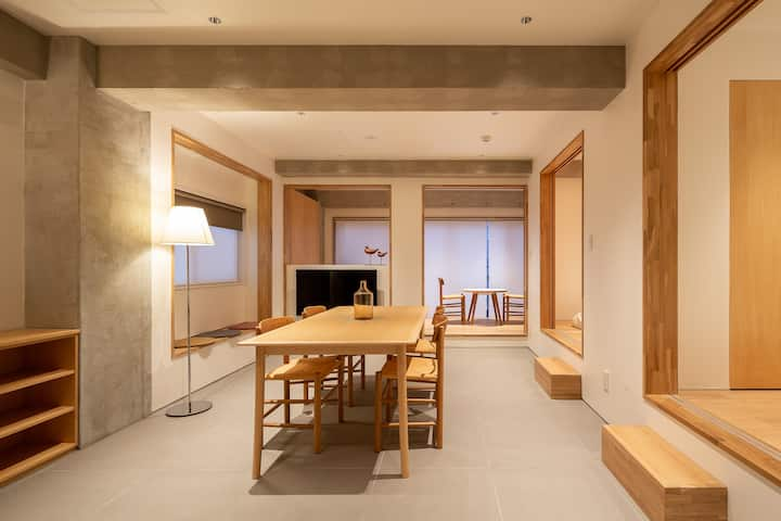 Bright Condo in Shinjuku - Max 8 ppl! 5 min to sta