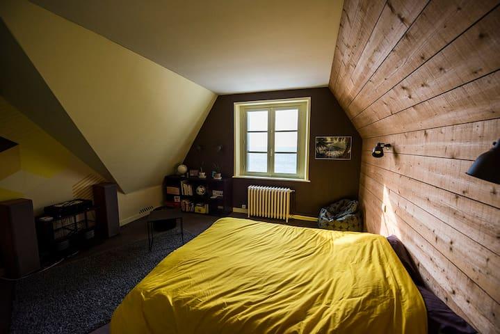 Chambre chez l'habitant - Vue mer - Locquirec - Rumah