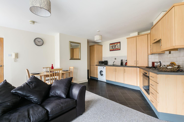 Kitchen/ Dining Area.