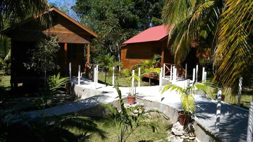 Quinta Halkab Pal cabaña Standar vista a la piscin - Quintana Roo - Natur-Lodge