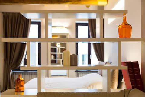 Cozy 2 bedroom flat in the heart of Montefalco