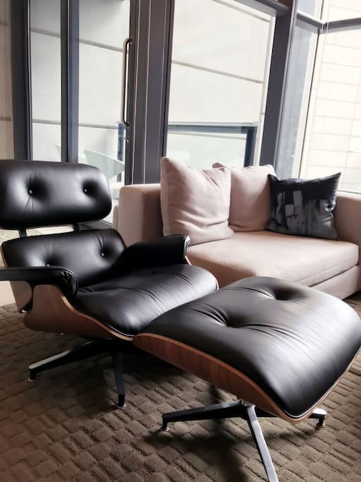 Comfy sofa and recliner chair