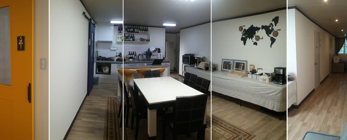 Busan B&B 6beds room