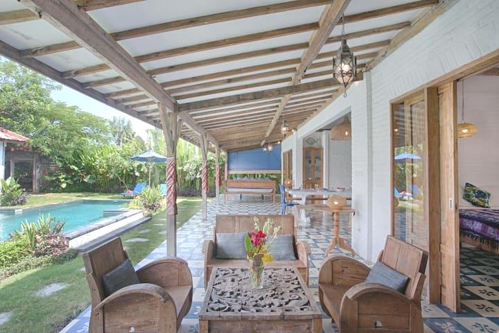 Villa Indigo In Bingin Beach Villas For Rent In Kuta Selatan Bali Indonesia