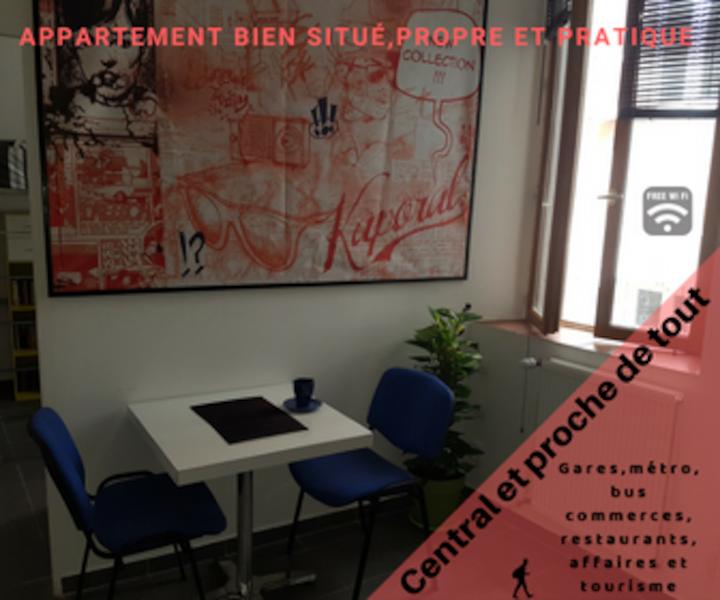 Appartement centre ville Marseille vieux port