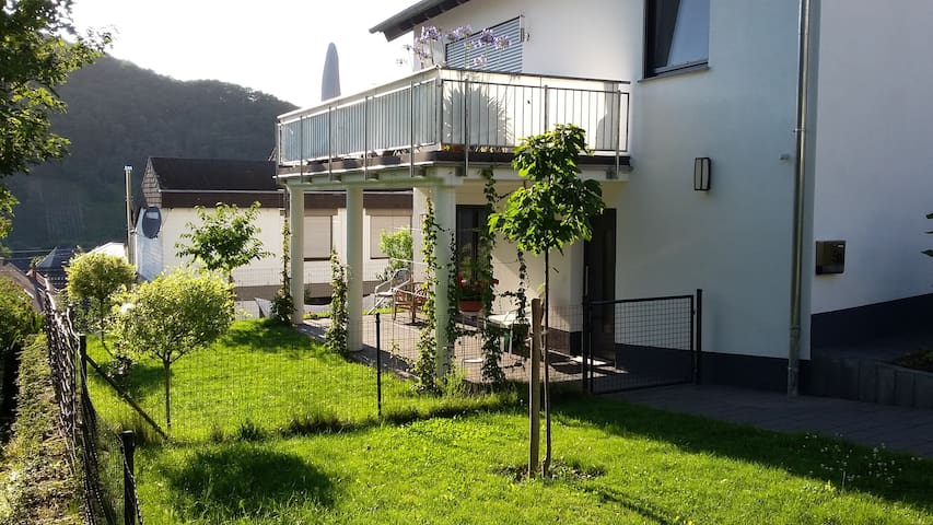 Modern apartment in the middle of the Mosel Valley