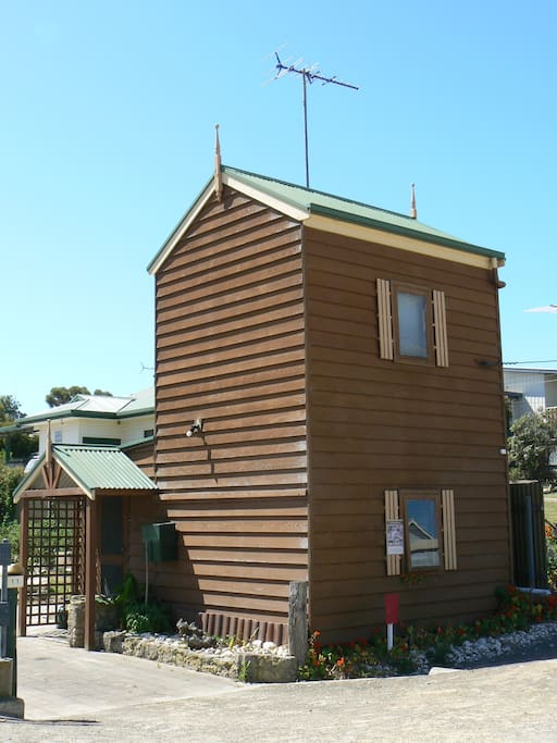 """The """"iconic"""" Dolls House in the heart of the Kingscote township."""