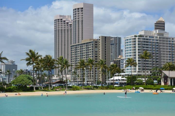 Oceanside at the Ilikai Waikiki - Honolulu - Wohnung
