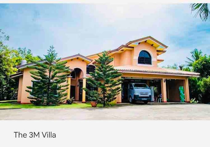 The 3M Villa - close to the beach ( up to 10 pax )