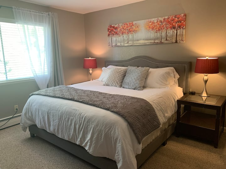 OPEN!  1BR w/Private Bath near Heavenly Village!