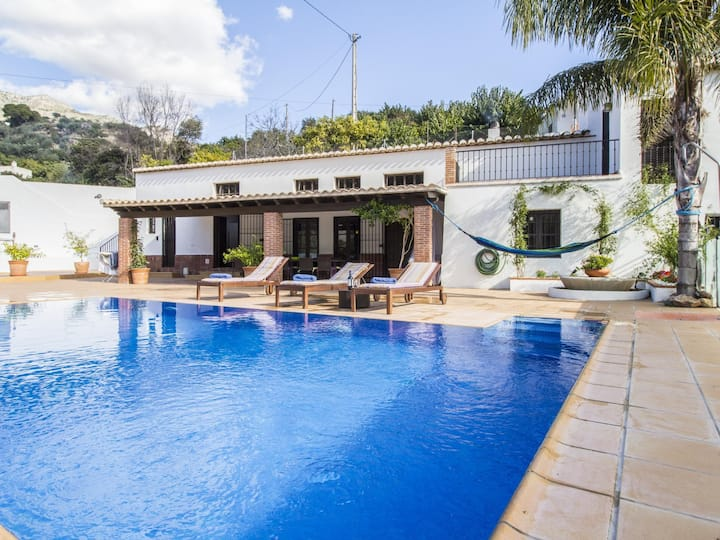 Magnificent renovated mill with pool and views