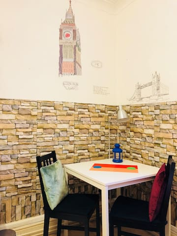 Dinning space or work space