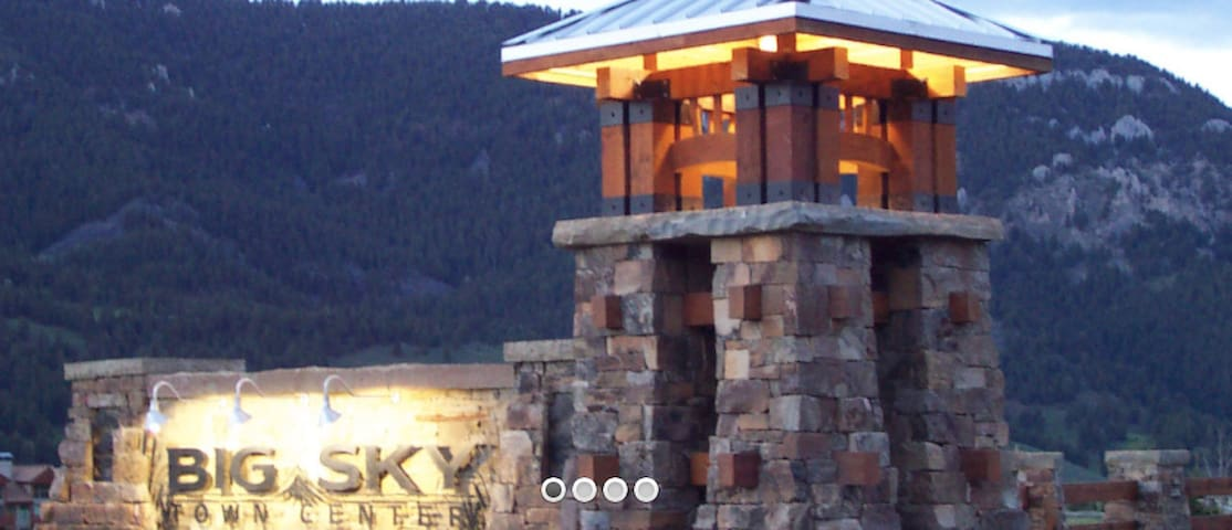 Top floor Big Sky studio w. stunning views - Gallatin Gateway - Byt