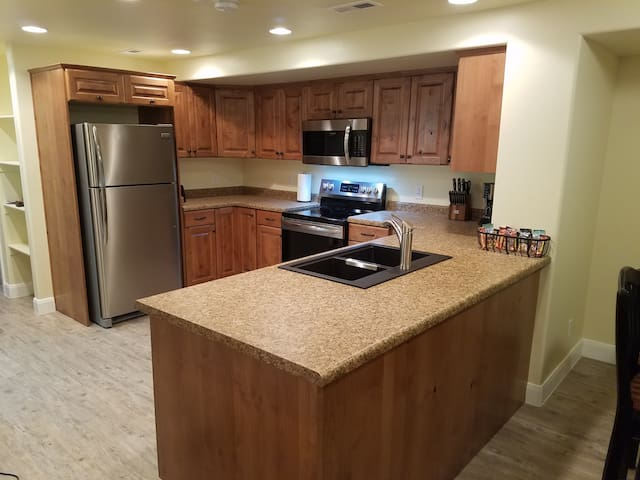 Full Basement with private entrance, near Zion