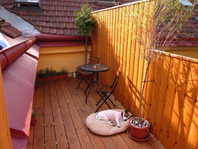 Attic apartment with a lovely terrace.. - Prague - Loft
