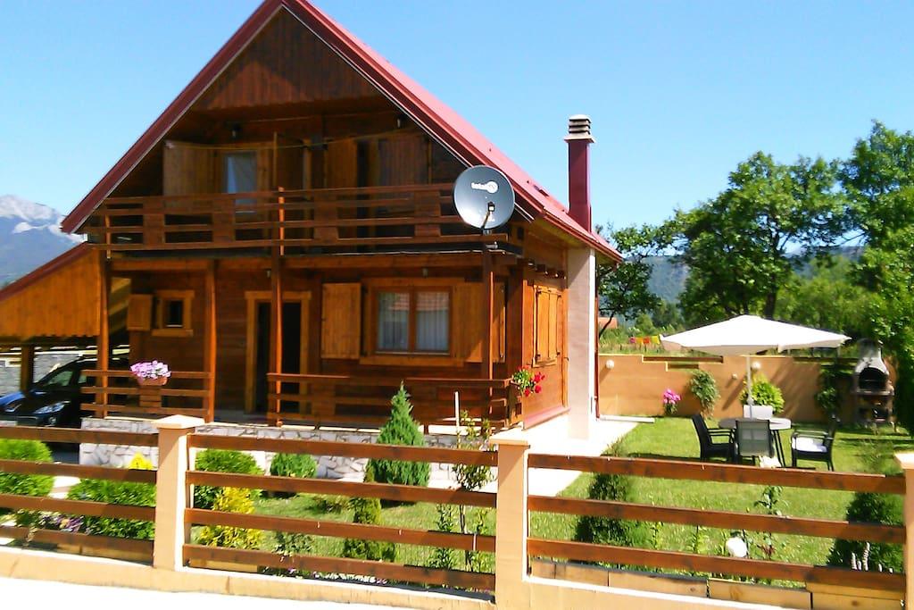 villa breza maisons louer kolasin kolasin mont n gro. Black Bedroom Furniture Sets. Home Design Ideas
