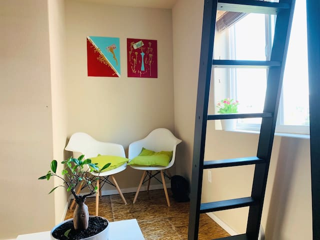 Cozy and compact modern Capitol Hill Studio, close to nightlife, museums and dining.