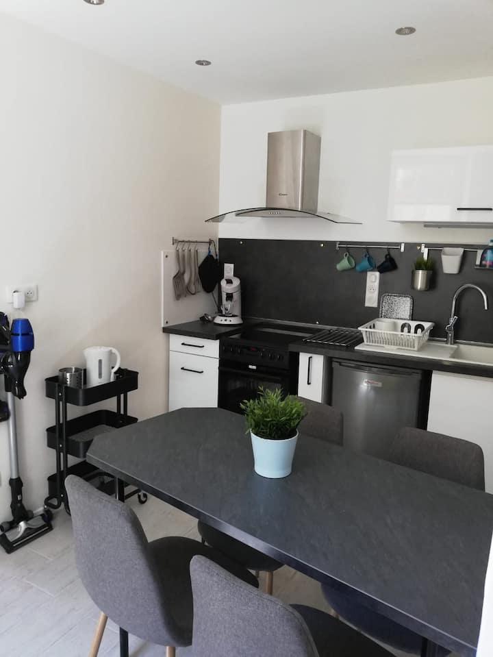 Appartement 27m² refait à neuf centre de Rumilly