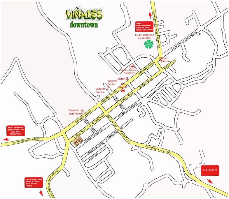 Mapa CASA SALOME