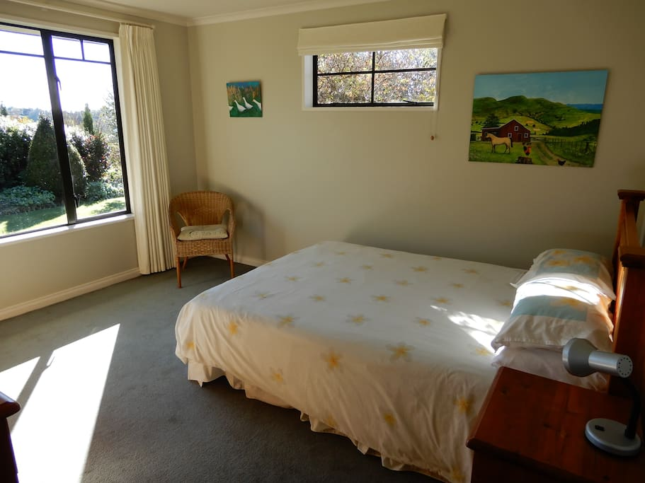 The sunny double room