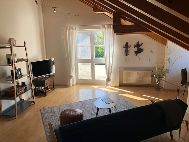 Großzügiges, helles Apartment mit Balkon