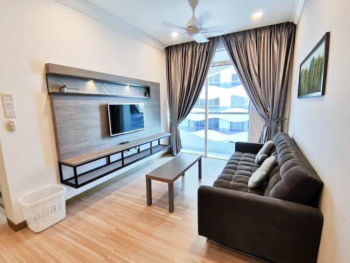 Cozy 2bedrooms home, near Jonker Street Malacca