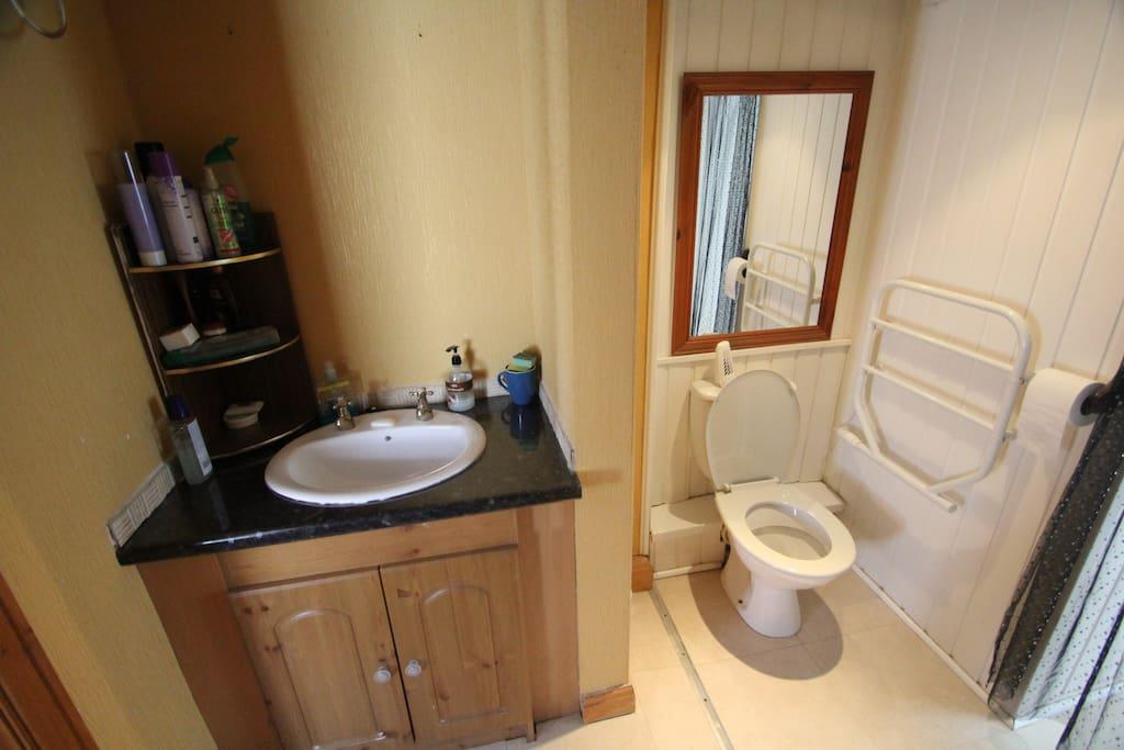 Toilet/Shower Room