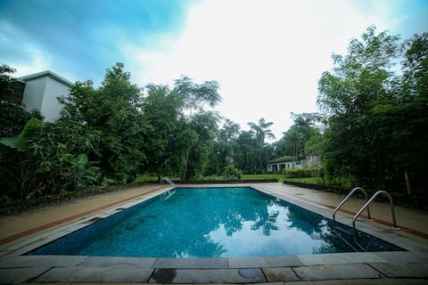 5BHK RIVERTOUCH LUX VILLA WITH PRIVATE POOL