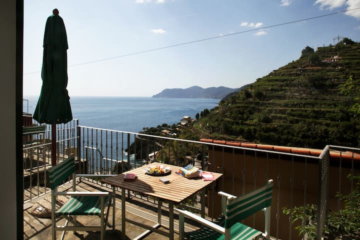 ARIA DI MARE: your terrace with panoramic view!
