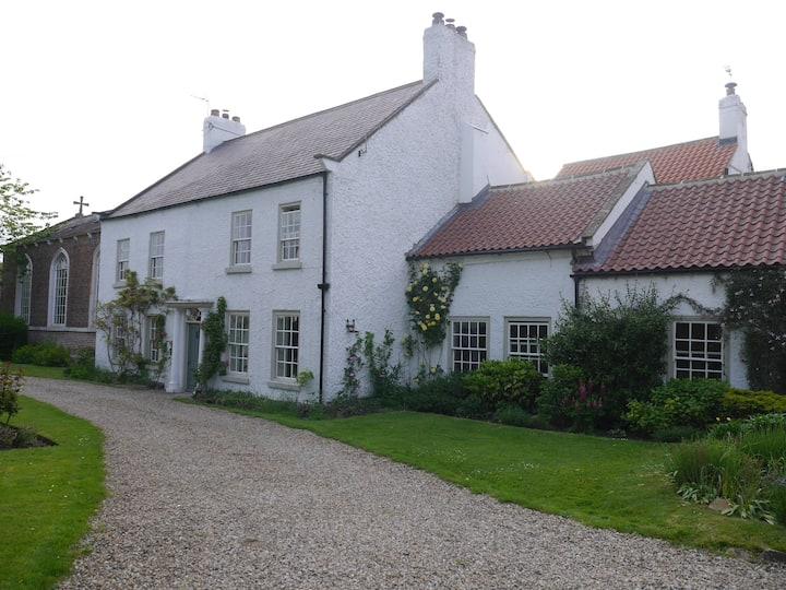 Large North Yorkshire Village House
