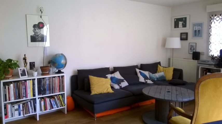 Spacious central appartement with big terrasse - Montpellier - Flat