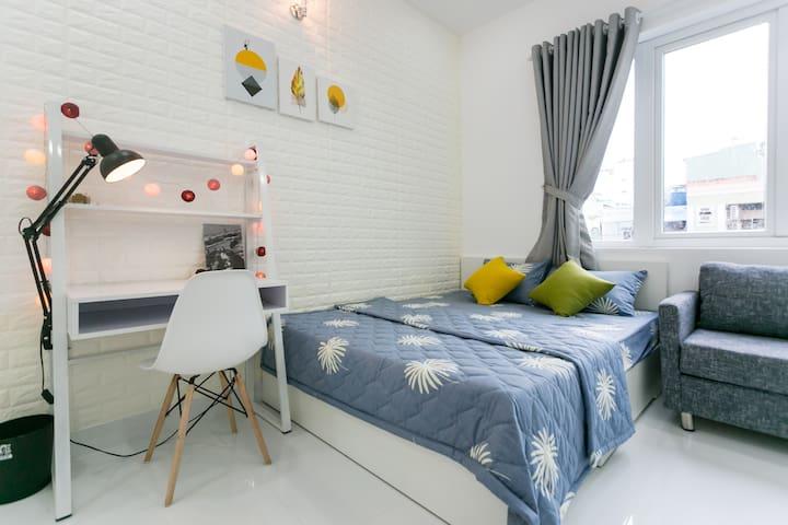 SM9.X01-Cheap & Lovely studio on Pham Ngu Lao, D1
