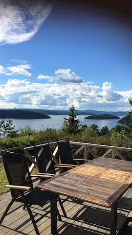 Summer cabin with a great view of the Oslo fjord!!