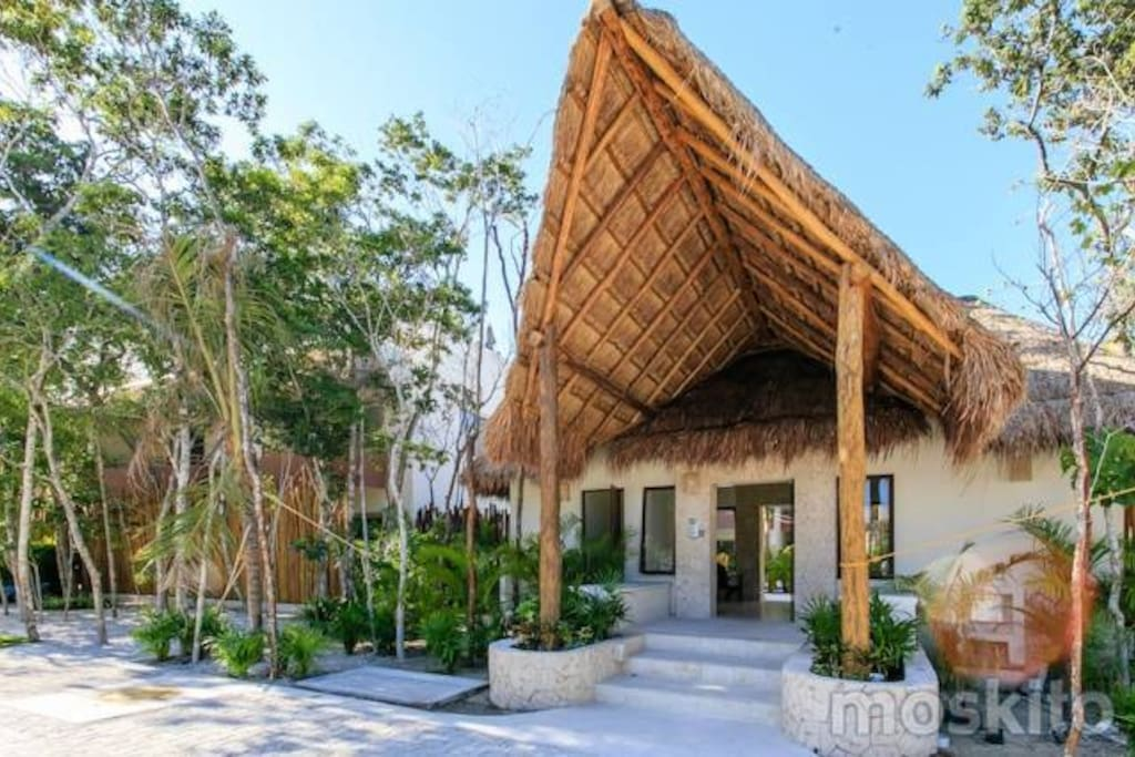 Entry Way into this beautiful ECO Resort