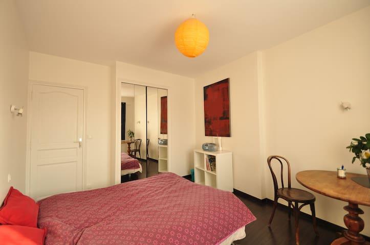 Chambre privée dans maison de ville - Grenoble - Casa
