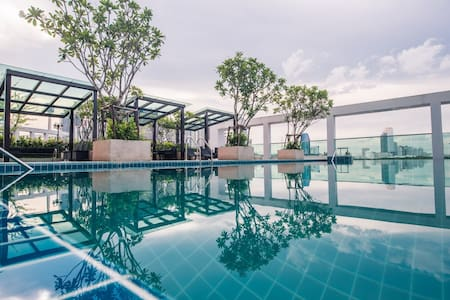 TOPMOST STUDIO 27FL. (T-A397) / WIFI / POOL / GYM - 방콕 - 아파트(콘도미니엄)