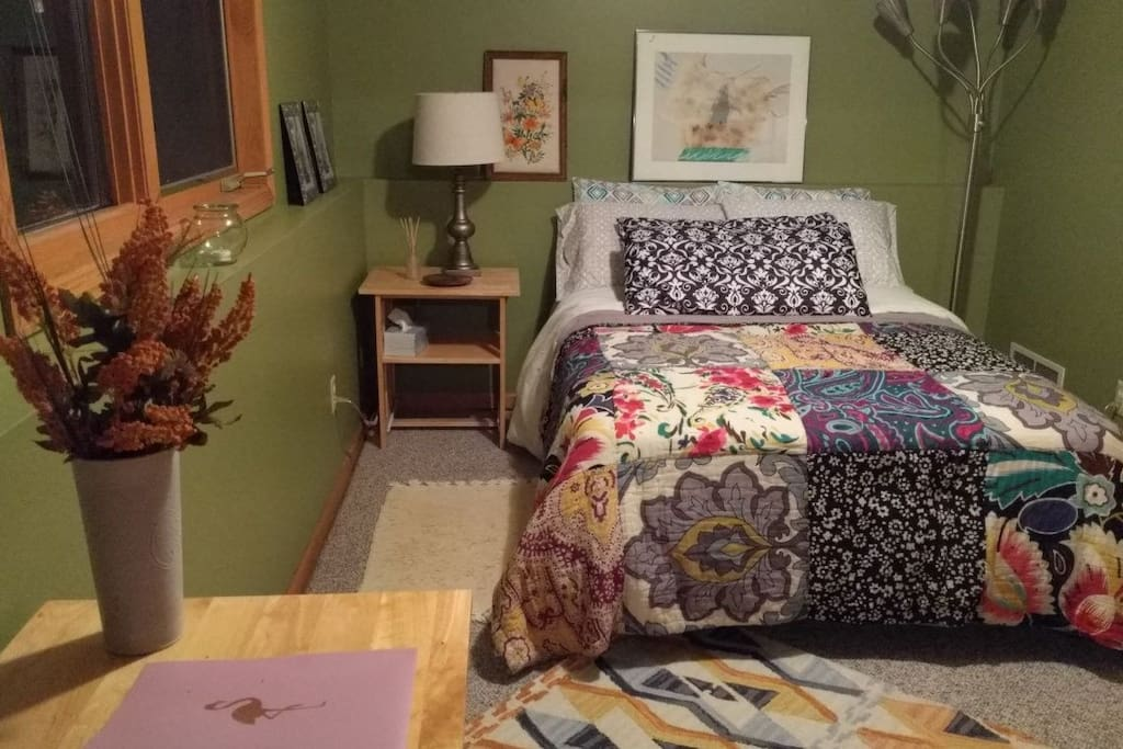 Pillows and mattress are protected with covers for allergens, dust mites, waterproof, etc.