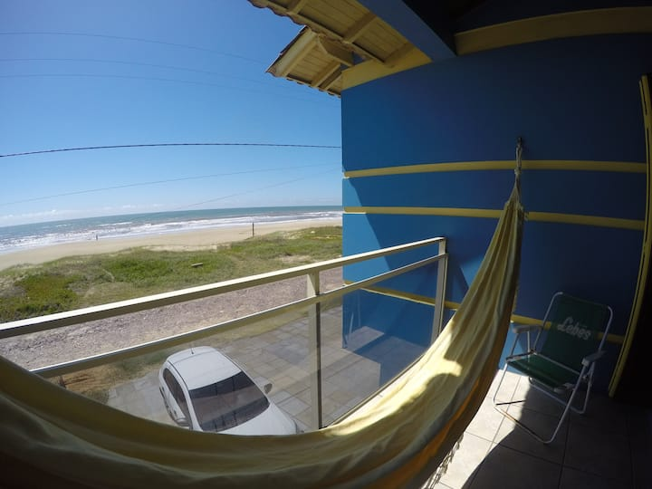 Casa à beira mar em Salinas, na praia de Cidreira!