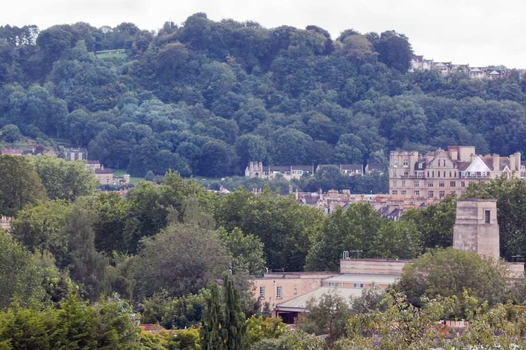 Wonderful views over Bath