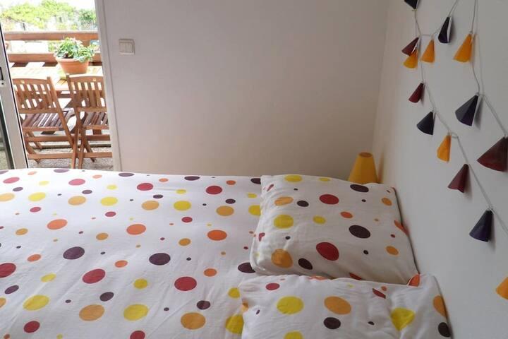 Chambre dans très agréable appartement ensoleillé - La Rochelle - Appartement